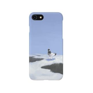 冬のライチョウ Smartphone cases