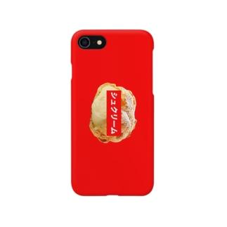シュクリームケース(RED) Smartphone cases