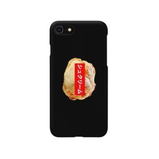 シュクリームケース(BLACK) Smartphone cases
