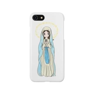 祈る女の子 Smartphone cases
