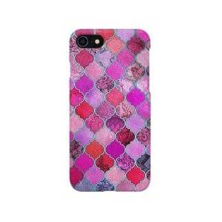 モロッカンピンク Smartphone cases