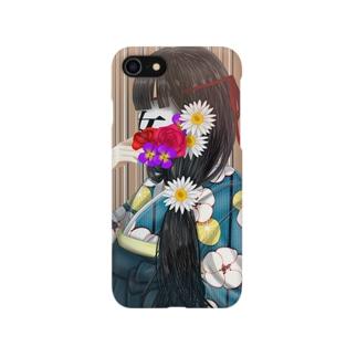 和の少女のケース Smartphone cases