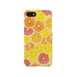 シトラスiPhoneケース Smartphone cases
