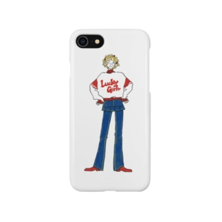Lucky Girl Smartphone cases