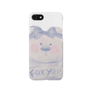 しろくまちゃん Smartphone cases