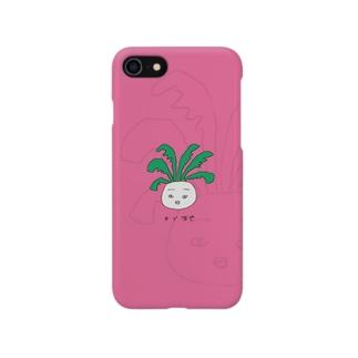 NO.001 / カブ坊や Smartphone cases