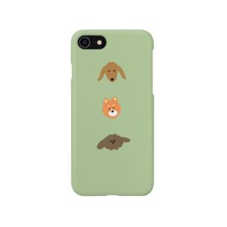 いぬ。 Smartphone cases