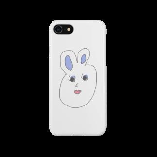 p_tachimachiのプライドタカコちゃん ウサギ Smartphone cases