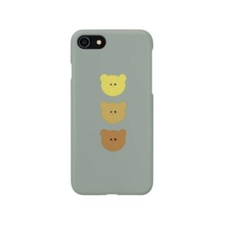 くま。 Smartphone cases
