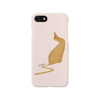 猫のフェイ Smartphone cases