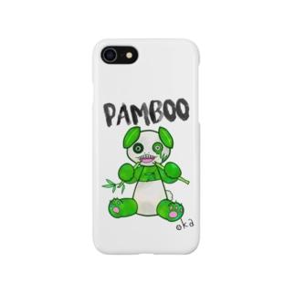 PAMBOOもぐもぐVer. Smartphone cases