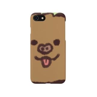 舌ぺろおこげくん Smartphone cases