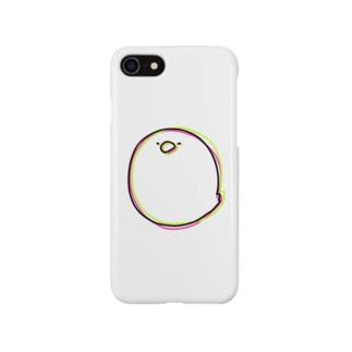 目がチカチカする鳥 Smartphone cases