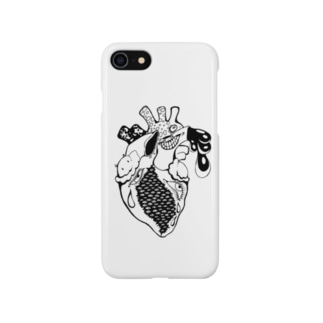 pinky blackwork2 Smartphone cases