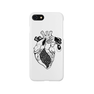 PINKYのpinky blackwork2 Smartphone cases