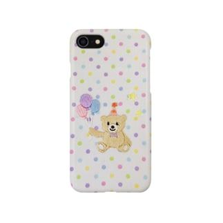 バルーンくまさん🎈 Smartphone cases