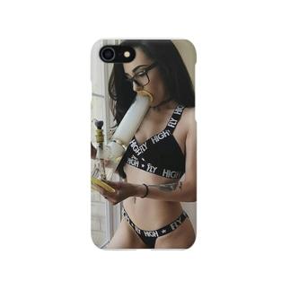 Stoner girl Smartphone cases