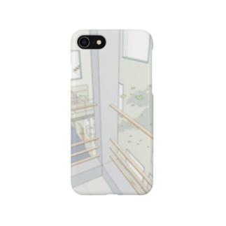 風の吹く家 Smartphone cases