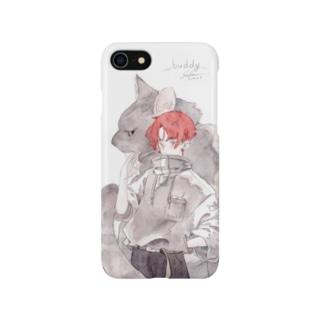 buddy! iPhone7/8用 Smartphone cases