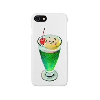 キュートなクリームソーダ❤︎ Smartphone cases