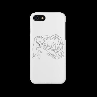 ℴんちゅのネケチェン・アウトライン Smartphone cases