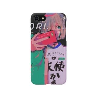かわいこちゃん(黄髪) Smartphone cases