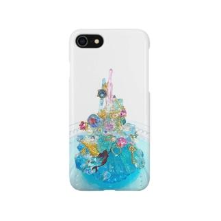 人魚姫の秘密の場所 Smartphone cases