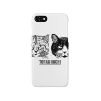 トラとハチ Smartphone cases
