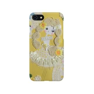 もじゃもじゃ髪の女の子♡6 Smartphone cases