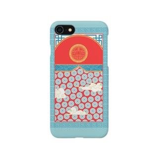 チャイナ風イラストのスマホケース Smartphone cases