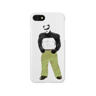 パンダ弟 Smartphone cases