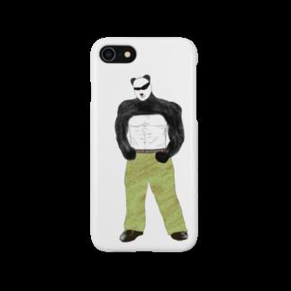 Rokidoのパンダ弟 Smartphone cases