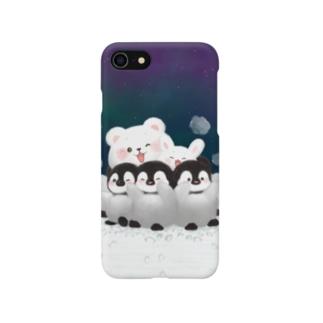 ペンギンおしくらまんじゅう Smartphone cases