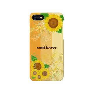 ひまわり(スマホケース) Smartphone cases