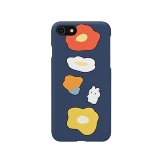 Sesujiのうさぎとポピー Smartphone cases