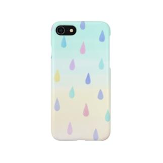 シズク×カラフル Smartphone cases