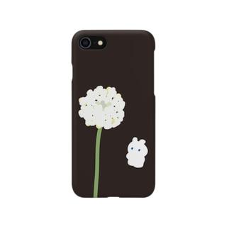 Sesujiのシロツメクサとうさぎ Smartphone cases