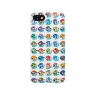水彩(カタツムリ) Smartphone cases