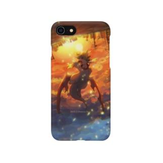夕焼けとリペア・スマフォケース Smartphone cases