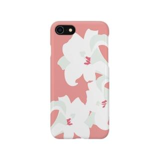 鉄砲百合 Smartphone cases