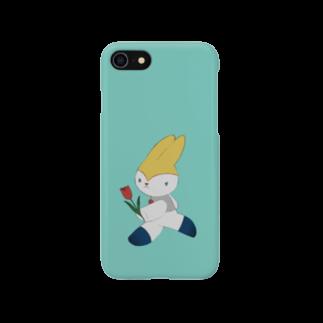 mopparaの走るネリ 水色 Smartphone cases