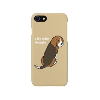 ビーグル2(イエロー) Smartphone cases