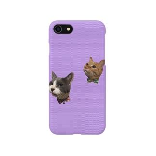 リリと雫 Smartphone cases