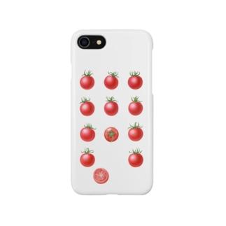 プチトマト Smartphone cases