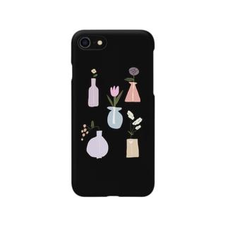 お花1 Smartphone cases