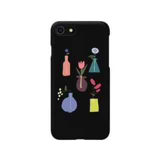 お花4 Smartphone cases