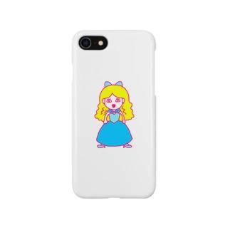 目ぇ座りシンデレラ Smartphone cases