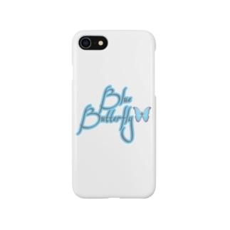 Blue Butterfly🦋 Smartphone cases