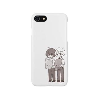 なかよしとたこ Smartphone cases