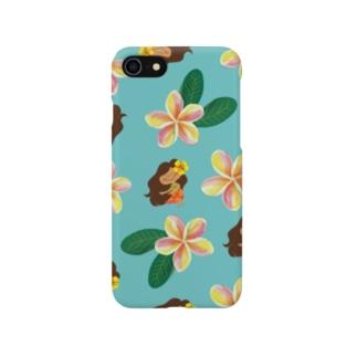 KAPUA&プルメリア Smartphone cases
